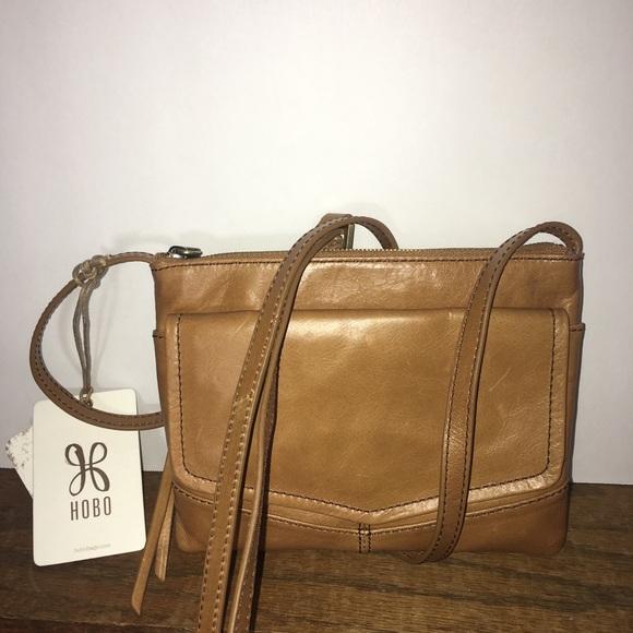 46d2936f80fa NWT HOBO Amble Crossbody Handbag Earth Color